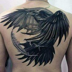 Stunning raven