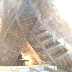 Winding staircase in El Morro