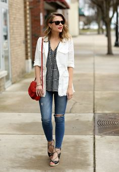 "Gingham is one of those patterns that keeps popping up everywhere this season - though I have a hard time referring to it as a ""spring t..."