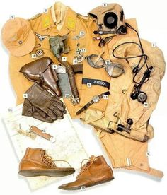 Luftwaffe tropical uniform