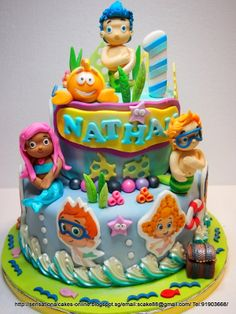 Sensational Cakes Online ( Singapore): BUBBLE GUPPIES THEME
