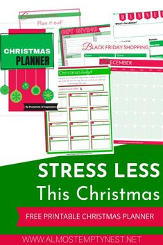 Stress LESS this Christmas - Updated for 2019 Cute Christmas Ideas, Cool Christmas Trees, Christmas Inspiration, All Things Christmas, Christmas Parties, Merry Christmas, Homework Organization, Household Organization, Weird Holidays