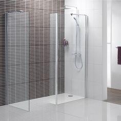 Minimalist Walk in Shower 1400 x 900 - Victoria Plumb July Sale - Bad Inspiration, Bathroom Inspiration, Bathroom Ideas, Shower Ideas, Walk In Shower Enclosures, Minimalist Bathroom Design, Bad Styling, Shower Cabin, Wet Rooms
