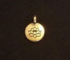 Brass Charm--Lotus - Brought to you by Avarsha.com