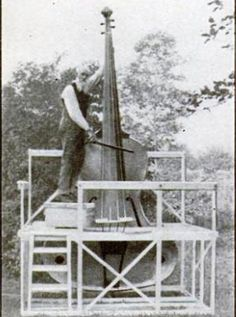 giant fiddle <3 (Archive Gallery: Strange Musical Instruments from the Pages of Popular Science | Popular Science)