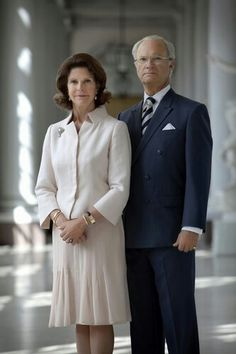 King Carl Gustaf XVI and Queen Silvia of Sweden