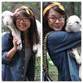 Cute pics of a #Manali tourist with a baby lamb.  http://instagram.com/p/qTAnzmqfpz/