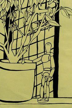 Line Drawing Projects Savannah School Of Art