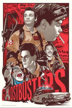 Ghostbusters+by+Joshua+Budich.jpg (700×1054) amazing