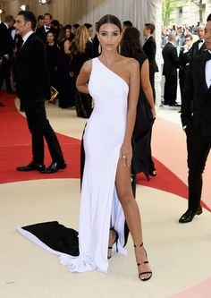 Met Gala 2016: Emily Ratajkowski Wearing Atelier Prabal Gurung and Tiffany & Co. jewels, attends the 69th annual Cannes Film Festival at the Palais des Festivals on May 11, 2016 in Cannes, France.
