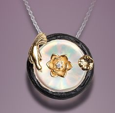 Galatea Illusia (A2), birdbath pendant.