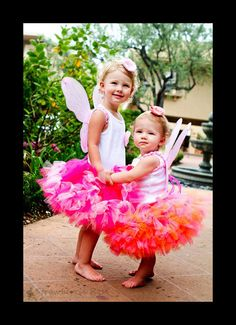 Bright Blossom Fairy Tutu Outfit Set by StrawberrieRose on Etsy, $54.95