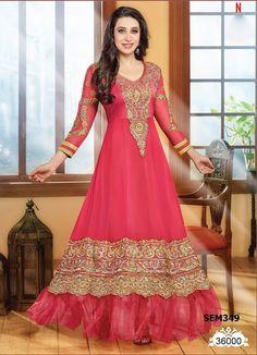 V & V ® Karishma Kapoor Light Pink Designer by LadyInRedCollection