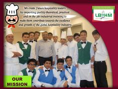 We a create future #hospitality leaders by imparting quality theoretical, practical and on the job industrial training to make them #contribute towards the excellence and growth of the global hospitality industry!!!! http://www.lbiihm.com/