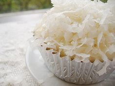 as you can tell I am obsessed with finding the perfect coconut cupcake....