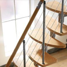 Escalier gain de place Inversio - CASTORAMA