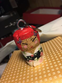 Kokeshi doll cork craft