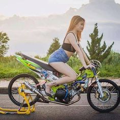 Custom Motorcycles, Custom Bikes, Satria Fu, Moto Car, Drag Bike, Scooter Girl, Motorcycle Art, Racing Team, Kawasaki Ninja