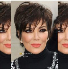 Hair Beauty - -Updo Hairstyles For Older Women updohairstylesforolderwomen Cabelo Kris Jenner, Estilo Kris Jenner, Kris Jenner Style, Short Sassy Hair, Short Hair With Layers, Short Hair Cuts For Women, Mom Hairstyles, Cute Hairstyles For Short Hair, Short Hair Styles