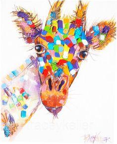 Ripley Tracey Keller Giraffe Painting