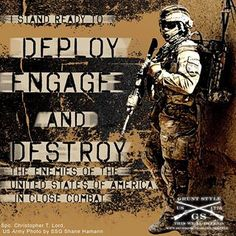 Deploy, engage, and destroy!