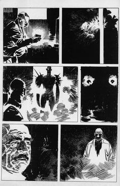 Comic Book Layout, Comic Book Pages, Comic Book Artists, Comic Book Characters, Comic Artist, Comic Books Art, Bd Comics, Horror Comics, Anime Comics
