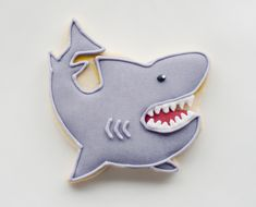 Shark Cookie Favor