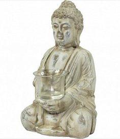 Budda z Ceramiki Dekoracyjna Figurka Budda Gaja - 6747562514 - oficjalne archiwum Allegro