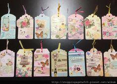 My lovely paper tag crafts  【自製心意卡】【紙膠帶應用】手作心意卡、書簽(2)~ 製作技巧篇 @ ~推坑者們~ :: 痞客邦 PIXNET ::  #tag #papertag #bookmark #マスキングテープ  #maskingtape #mt #shadowlady #shoppingageha #enogreetingcard