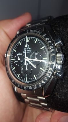 Vintage Omega Speedmaster, perfect tritium hands and dial
