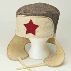 "Wool Hat for Sauna ""Hat with Ear-flaps"" for Man. by Atlant Inc. $16.00. http://yourdailydream.org/showme/dpejn/Be0j0n7uSsNtDsMnFjCn.html"