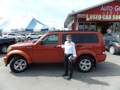 Congratulations to Delia on her purchase of a new Dodge Nitro! We really appreciate the opportunity to earn your business and hope you enjoy your new SUV!