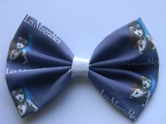 Les Miserables Inspired Classic Hair Bowmor Clip by PigtailsnCurls