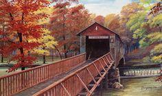 Kymulga Bridge, Childersburg, AL One of the oldest bridges in the State of Alabama.