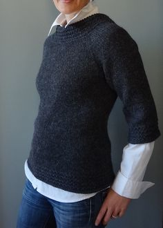 Ingenue in Ultra Alpaca - definitely making this one in the Fall