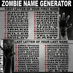 What's your Zombie Name: Jaundiced Rottie