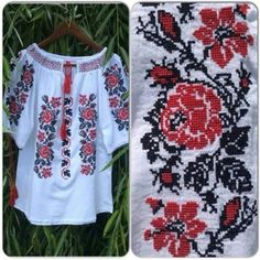 Poze BIG026 Crochet Stitches, Smocking, Kurti, Christmas Sweaters, Floral Tops, Embroidery, Hair Styles, Handmade, Crafts