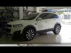 modifikasi velg mobil Chevrolet captiva | Chevrolet Captiva Car Rims Modification - YouTube