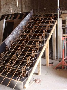 Discover thousands of images about Construct Stairs As the Professionals Do on the Construction Site - Decor Units Concrete Staircase, Stair Handrail, Staircase Design, Stairs Architecture, Architecture Details, Brand Architecture, Landscape Architecture, Escalier Design, Building Stairs