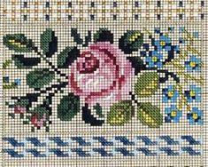 Cross Stitch Rose, Cross Stitch Flowers, Embroidery Patterns, Cross Stitch Patterns, Pixel Crochet, Tribal Art, Rug Hooking, Cross Stitching, Blackwork