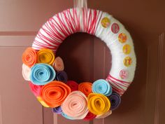 WOW! I love EVERYTHING about this wreath!