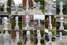 All of Wellington Wests recent Fire Hydrant Marble Statues. Ottawa, Street Art, Marble, Formal Dresses, Pictures, Formal Gowns, Photos, Photo Illustration, Granite