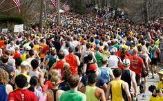 Blasts Rock Marathon: Runners start the 117th running of the Boston Marathon on…