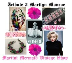 """""""Tribute 2 Marilyn Monroe"""" by martinimermaid ❤ liked on Polyvore featuring iCanvas and vintage"""