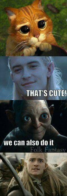 Legolas: (cringes) what the crap... IS GOING ON!!!!