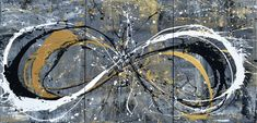 Infinite Infinities by Coty Schwabe   Coty Schwabe Abstract Art