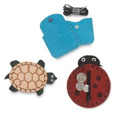 Leather Coin Purse Kits