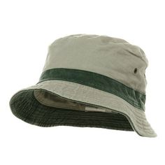 2fd7c94263aca Reversible Washed Bucket Hats - Putty Green - Regular to Big Size W12S33F  MG