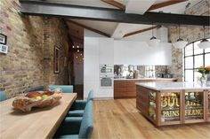 Shoreditch EC1: Warehouse Living - industrial - Kitchen - London - Increation