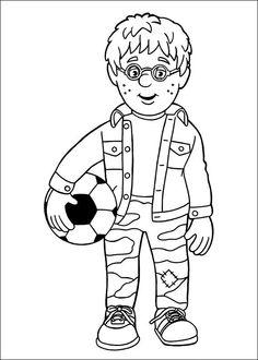 Tegninger til Farvelægning Brandmand Sam 25